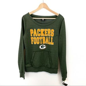 New With Tags Green Bay Packers Sweatshirt